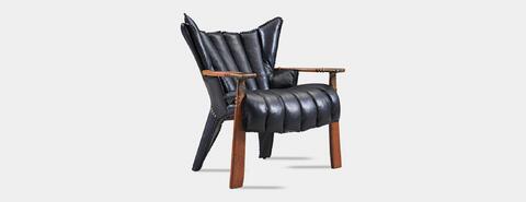 verite chair, pacific green, furniture