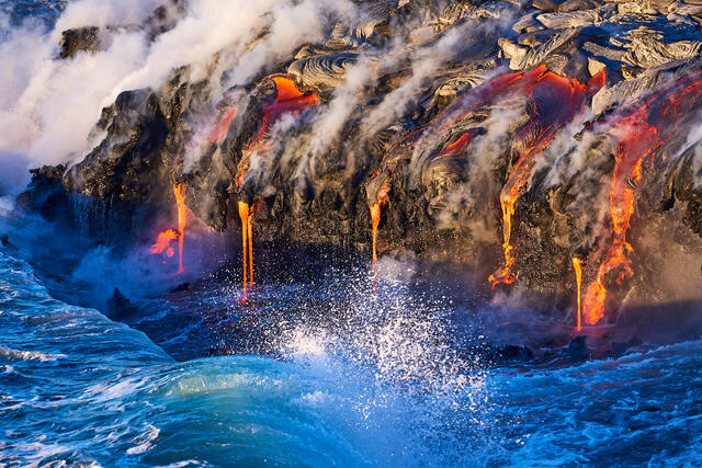 The Art Of Fire | Lava Photography of Hawaii