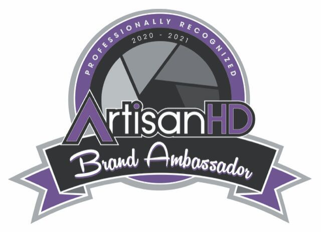 ArtisanHD Brand Ambassador Logo. Andrew Shoemaker Fine Photography is proud to be chosen as a brand ambassador for artisanhd.com